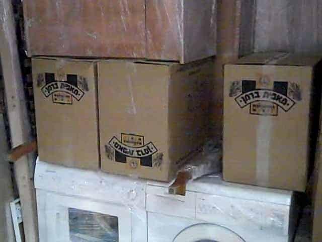 קרטונים לאריזה במעבר דירה, והובלה לאחסנה - תיבת נח