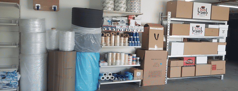 אריזה לאחסנה, אחסון תכולת דירות בראשון לציון - תיבת נח אחסנה